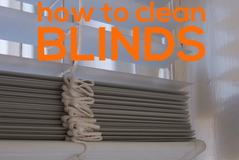 how to clean blinds | COIT