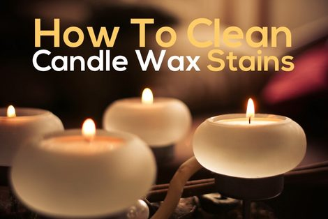 how to get candle wax out of carpet and upholstery