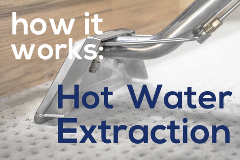 How Hot Water Extraction Cleaning Works