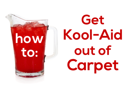 How to Get Kool-Aid Stains Out of Carpet