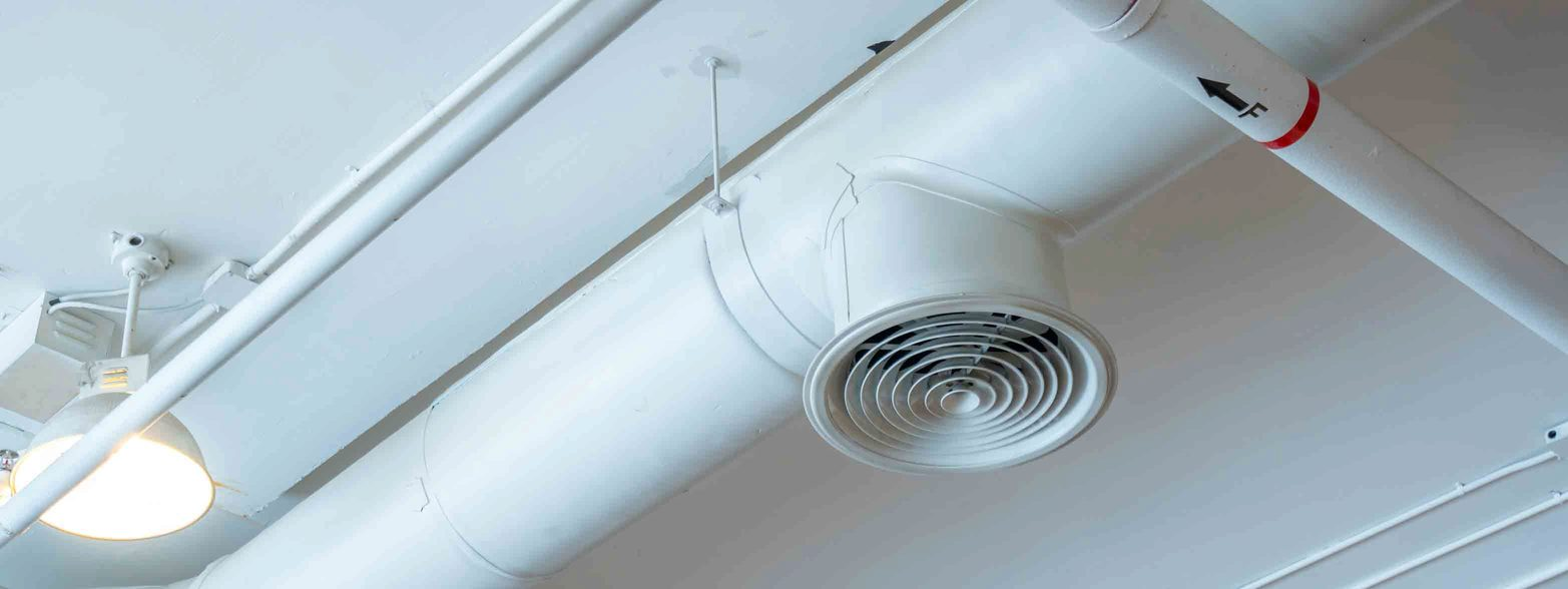 commercial air duct ceiling