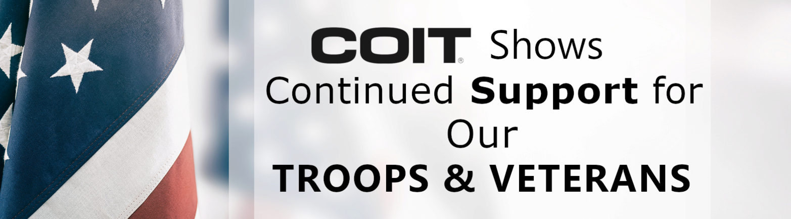 COIT Shows Continued Support for Our Troops & Veterans