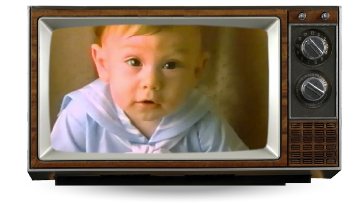 retro tv showing an old COIT commercial